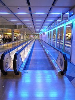 Moving Walkway, Roller Platform, Treadmill