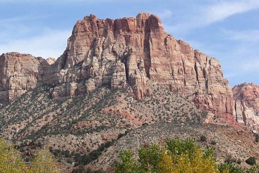 Zion, Hiking, National Park, Utah, Travel, National