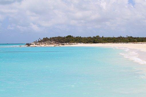 Turks And Caicos, Beach, Caicos, Ocean, Water, Vacation