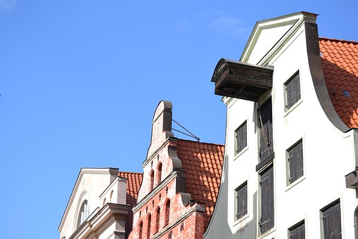 Building, Home, Old Town, Wismar, Hanseatic City