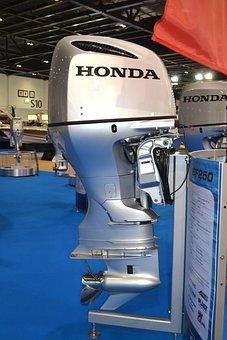 Outboard Motor, Boat, Engine, Honda, Motor, Motor Boat