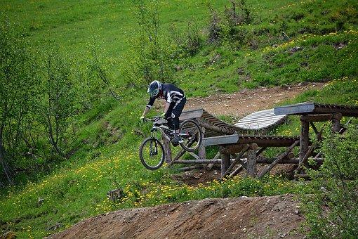 Bike, Human, Person, Sport, Bike Park, Obstacle, Jump