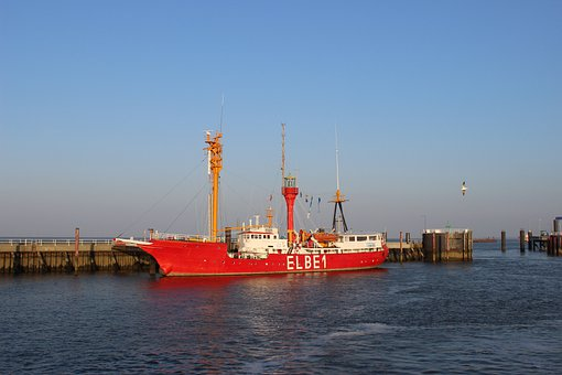Elbe, Lightship, Port, River, Pennsylvania Sky Ship