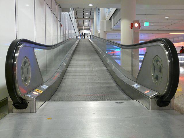 Roll Band, Entry, Upward, High, Handrails