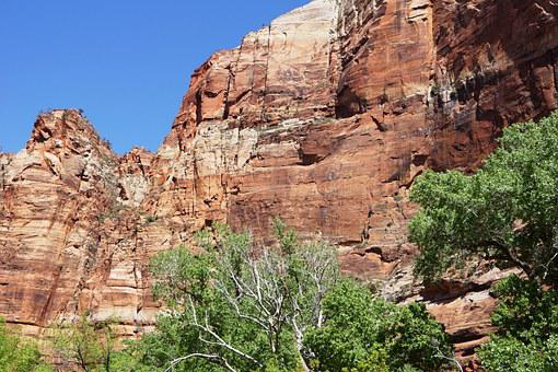 Zions, Sandstone, Utah, Park, Nature, National, Travel