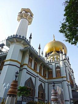 Singapore, Sultan Mosque, Masjid Sultan, Kampong Glam