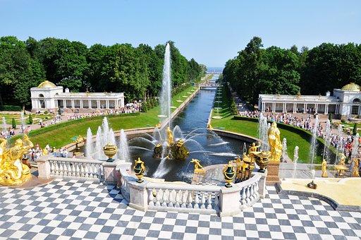 Summer Palace, Peter Hoff, St Petersburg