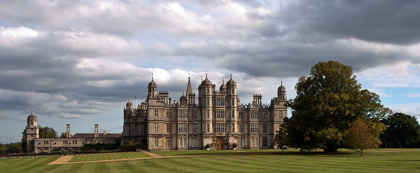 Country House, Architecture, Stately Home, Estate