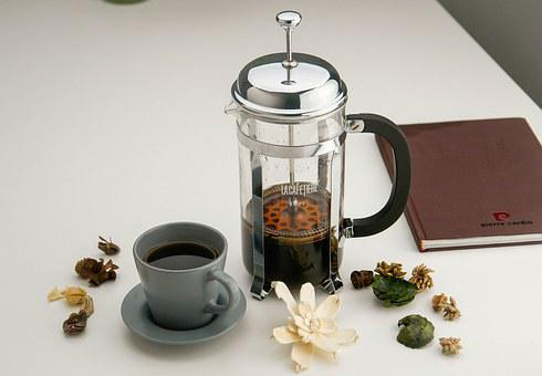 Indoor, Tea, Cup, Stamping Pot, Stainless Steel, Glass