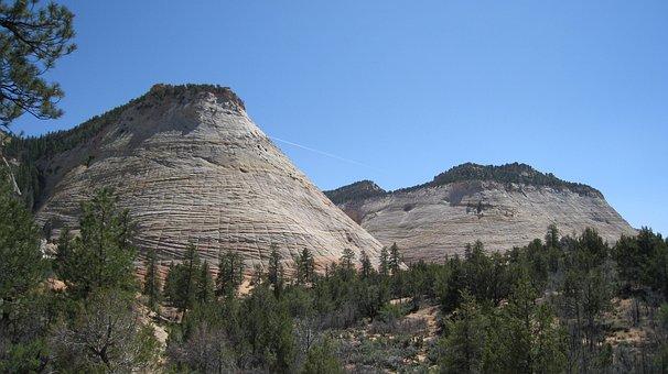 Zion, National Park, Rock Wall, Usa, Utah