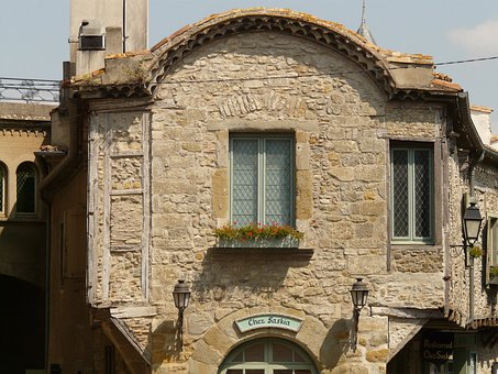 House, Wall, Stone, Window, Apartment, Building