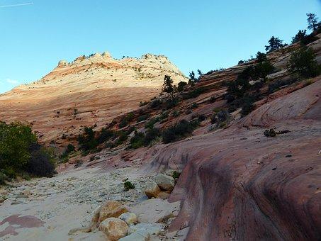 Zion, National Park, Utah, Usa, South West, Landscape