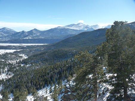 Mountains, Colorado, Rocky Mountains, Nature, America