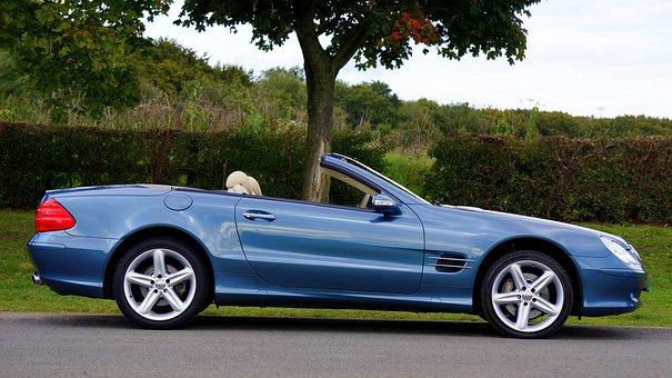 Blue, Car, Class, Classic Car, Convertible, Fast