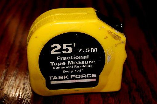 Measuring Tape, Task Force, Carpentery