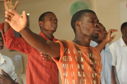Worship, Praise, Singer, Black, Africa, African, Church
