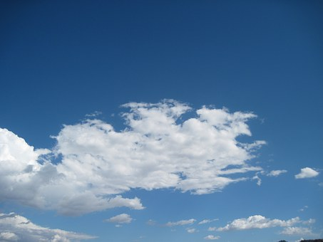 Sky, Cloud, Blue, Cloudscape, Day, Outdoors, Background