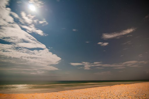 Animated, Beach, Beautiful, Blue, Cloud, Cold, Color