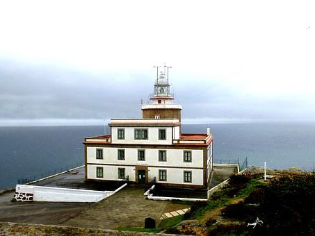Galicia, Finisterre, Lighthouse, Sea, Costa