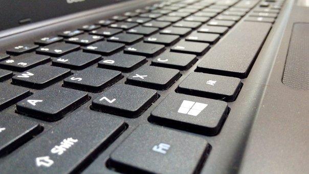 Keyboard, Laptop, Internet, Data, Input, Keys, Letters
