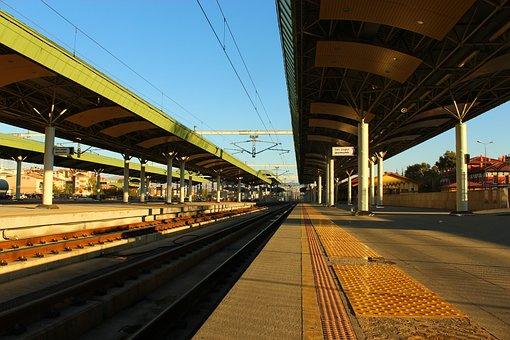Konya Station, High-speed Train Station, Morning