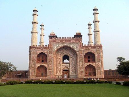 India, Mathura, Tomb, Great Khan, Monument, Funerary