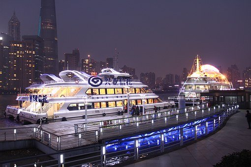 Shanghai Bund Night, Pearl Of The Orient Night
