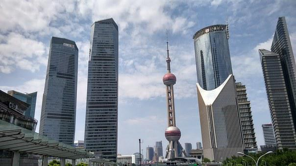 Shanghai, China, Oriental Pearl Television Tower