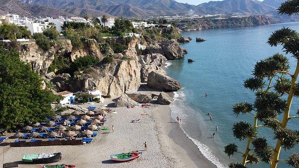 Nerja, Spain, Andalusia, Sea View