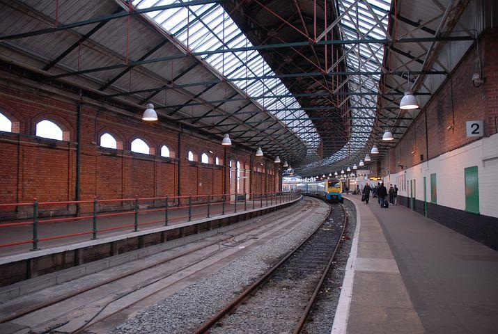 Train, Station, Wales