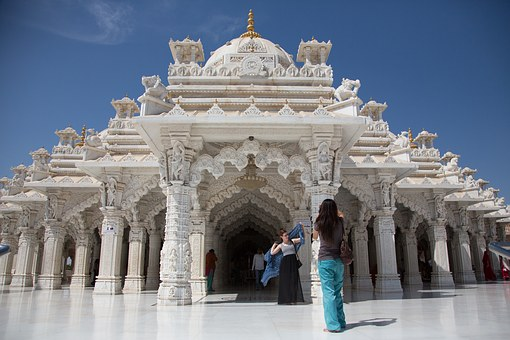 India, Shree Swaminarayan Temple, White Temple, Asia