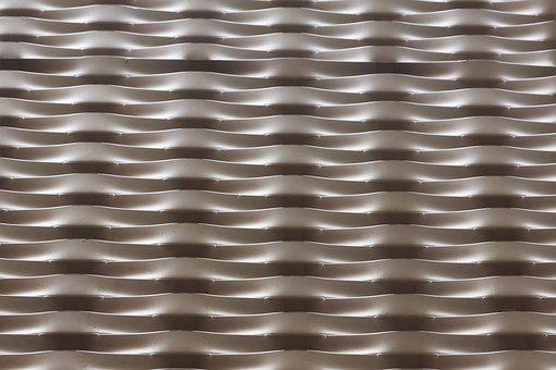 Structure, Fund, Background, Aluminium, Anodized