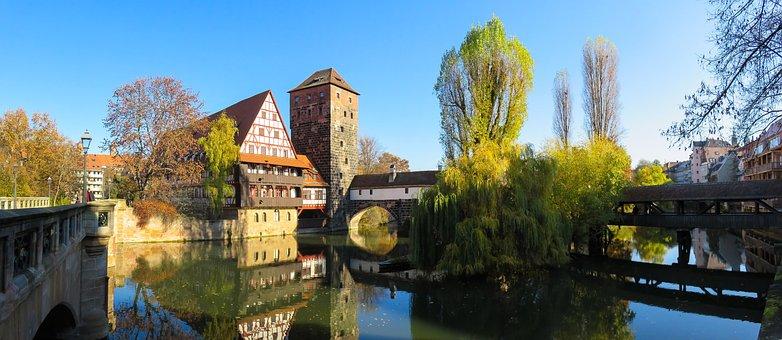 Landscape, Architecture, Building, Autumn, Old Town