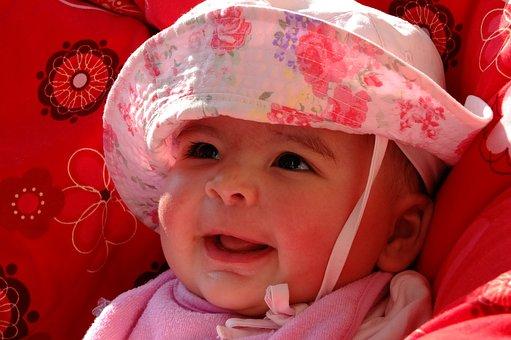 Baby, Infant, Small Child, Child, Girl, Juliana, Smile