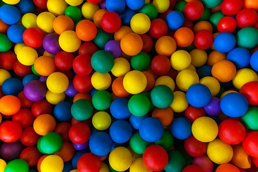 Ball, Colorful, Play, Pattern, Background, Many, Mixed