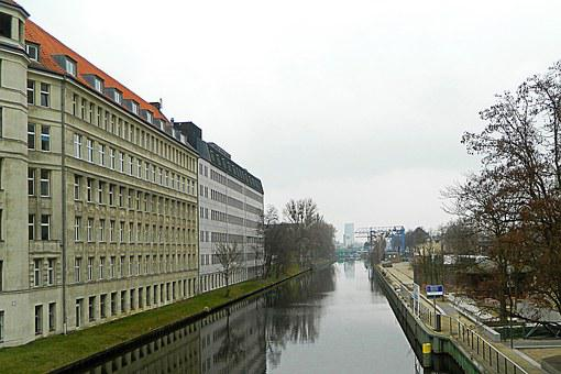Bowever, Channel, Water, Architecture, Berlin Trent