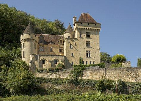 Middle Ages, Chateau La Malartrie, Castle, Dordogne