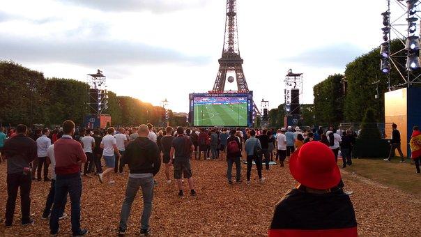 Euro 2016, Paris, Champ De Mars, Fan Zone
