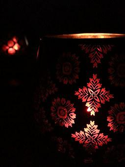 Candle, Light, Chiaroscuro, Reflections, Dark