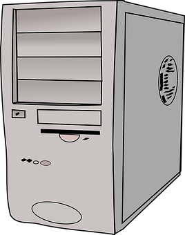 Computer Tower, Server, Hard Drive, Mainframe, Computer