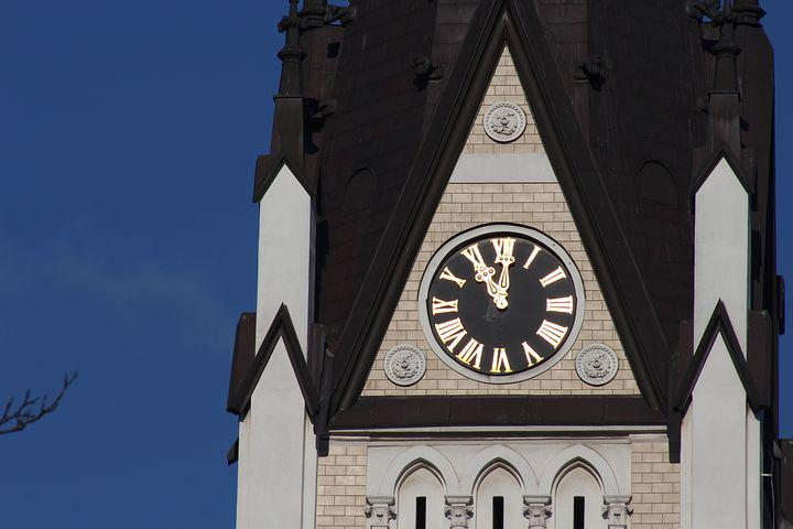 Church, Czech Cieszyn, Masaryk Sets, Sacred Heart