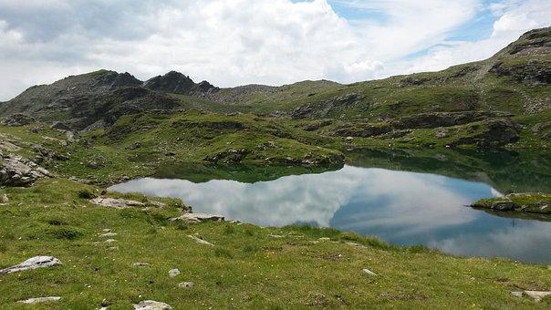 Austria, Alp Seas, Mountains, Hiking, Dolomites