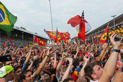 Public, Festivity, Monza, Formula 1, People, Podium