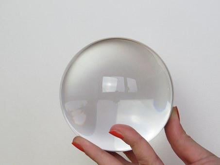 Glass Ball, Fortune Telling, Place Cards, Ball, Glass