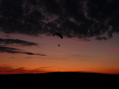 Hang, Glider, Flying, Sport, Extreme, Wing, Adventure