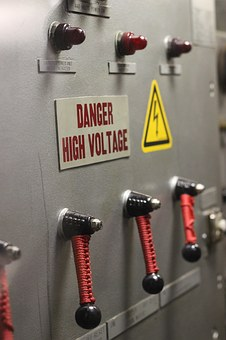 Control, High Voltage, Electricity, Lever, Console