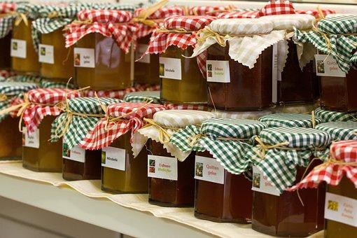 Jam, Spread, Jam Jars, Jelly, Quince Jelly, Homemade