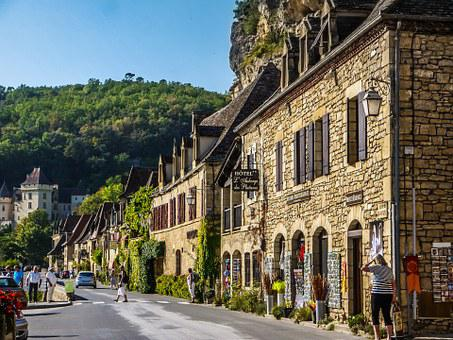France, Périgord, People, Medieval, Medieval Village
