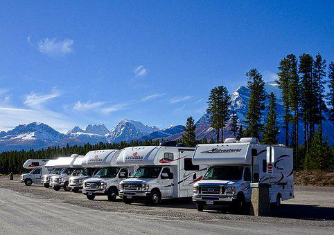 Motorhome, Camping, Travel, Campground, Rving