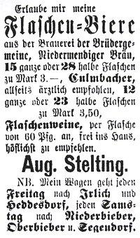 Newspaper Ads, Off, The, Rheinland, To, 1870
